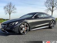 2014 Mercedes-Benz S63 AMG Coupe G-Power = 330 kph, 705 bhp, 3.8 sec.