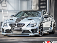2015 BMW M6 G-Power Hurricane CS Ultimate = 375 kph, 1001 bhp, 4.3 sec.