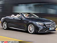 2017 Mercedes-AMG S 65 Cabriolet (A217)