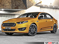 2016 Ford Falcon XR8 Sprint = 290 kph, 470 bhp, 4.5 sec.