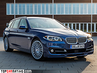 2016 Alpina B5 Bi-Turbo Touring Edition 50 (F11) = 323 kph, 600 bhp, 4.2 sec.