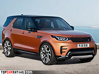 2017 Land Rover Discovery HSE = 215 kph, 340 bhp, 7.1 sec.