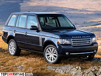 2011 Land Rover Range Rover Supercharged = 250 kph, 510 bhp, 6.2 sec.