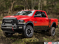 2017 Dodge Ram 2500 Power Wagon = 185 kph, 416 bhp, 8.2 sec.