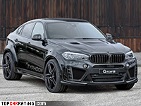 2016 BMW X6 M G-Power Typhoon = 299 kph, 750 bhp, 3.9 sec.