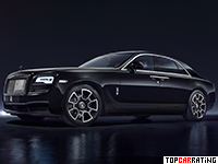 2016 Rolls-Royce Ghost Black Badge = 250 kph, 612 bhp, 4.8 sec.