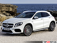 2017 Mercedes-AMG GLA 45 4Matic (X156)