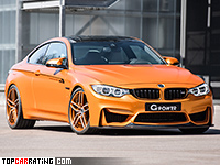 2017 BMW M4 Coupe G-Power G4M Bi-Turbo = 330 kph, 670 bhp, 3.5 sec.