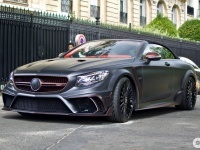 2017 Mercedes-AMG S 63 Cabriolet Mansory Black Edition (A217)