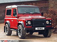 2018 Land Rover Defender 90 Works V8 = 170 kph, 405 bhp, 5.9 sec.