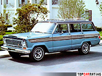 1966 Jeep Super Wagoneer (1414D)