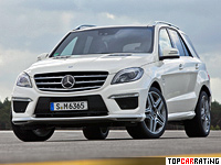 2012 Mercedes-Benz ML 63 AMG Performance Package