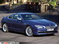 2012 BMW Alpina B6 Bi-Turbo Coupe = 320 kph, 540 bhp, 4.3 sec.