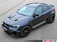 2012 BMW X6 M G-Power Typhoon WideBody = 300 kph, 725 bhp, 4.2 sec.