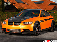 2011 BMW M3 Manhart Racing MH3 V8RS Clubsport = 350 kph, 720 bhp, 3.2 sec.