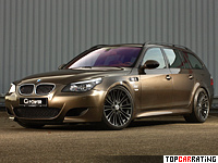 2011 BMW M5 Touring G-Power Hurricane RS = 359 kph, 750 bhp, 4.5 sec.