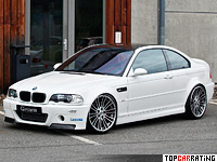 2012 BMW M3 Coupe G-Power (E46) = 300 kph, 450 bhp, 4.8 sec.