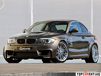 2012 BMW 1M G-Power G1 V8 Hurricane RS = 330 kph, 600 bhp, 4.4 sec.