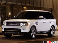 2005 Land Rover Range Rover Sport Supercharger = 222 kph, 395 bhp, 7.4 sec.
