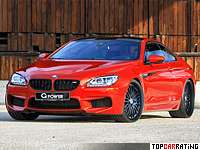 2013 BMW M6 G-Power = 315 kph, 640 bhp, 3.8 sec.
