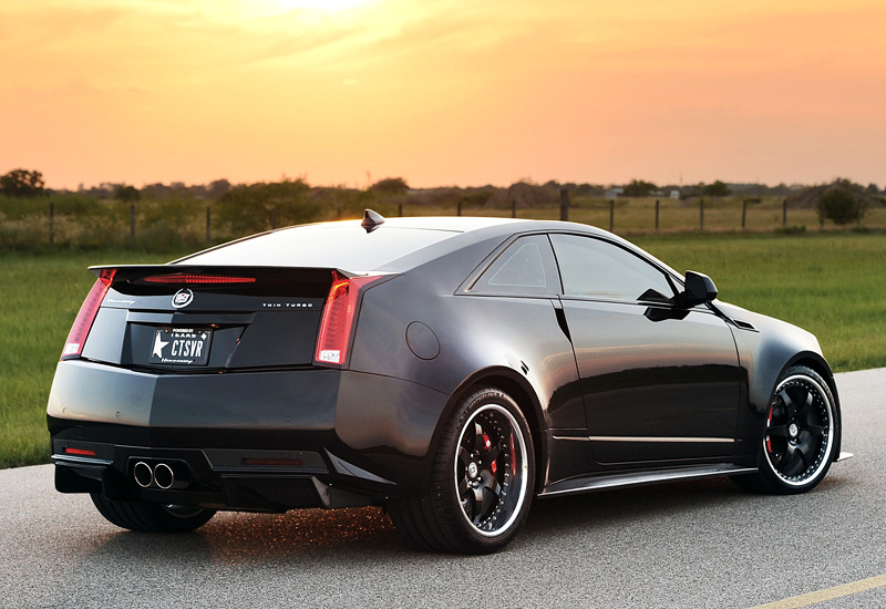 2012 Hennessey VR1200 Twin Turbo Cadillac CTS-V Coupe ...