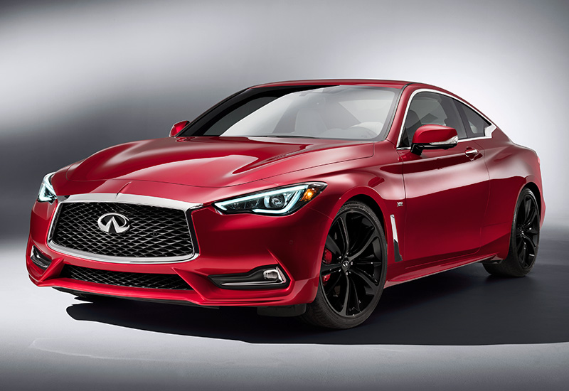 2017 Infiniti Q60S Red Sport 400 - specs, photo, price, rating