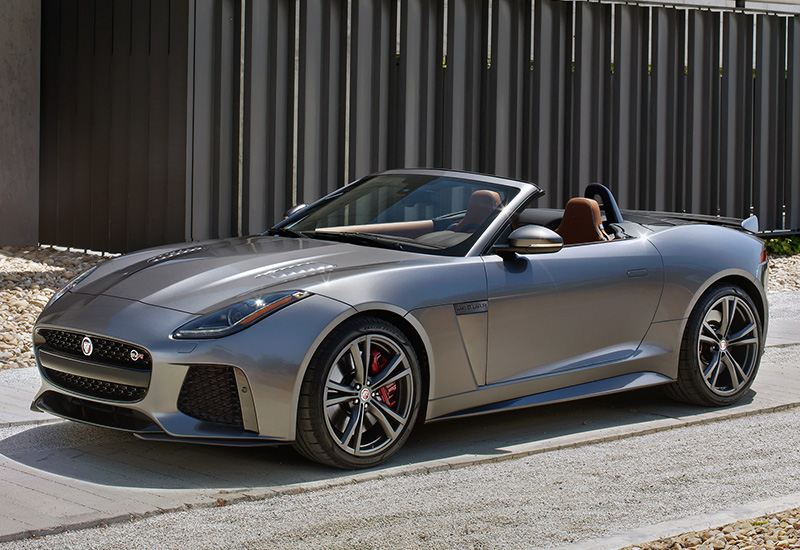 2017 Jaguar F Type Svr Convertible