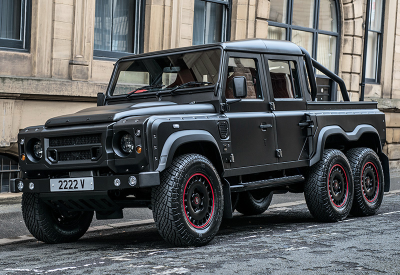 2016 Kahn Design Flying Huntsman 110 6X6 Defender Double Cab Pickup