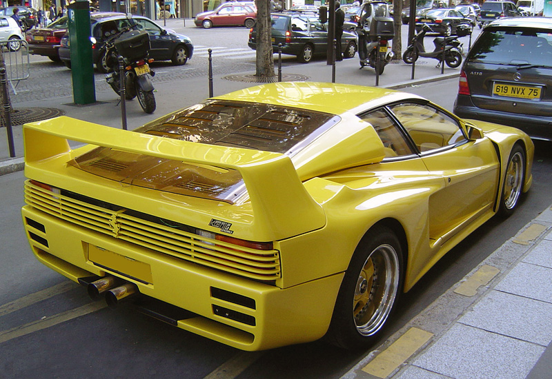 1991 Koenig Competition Evolution 1000