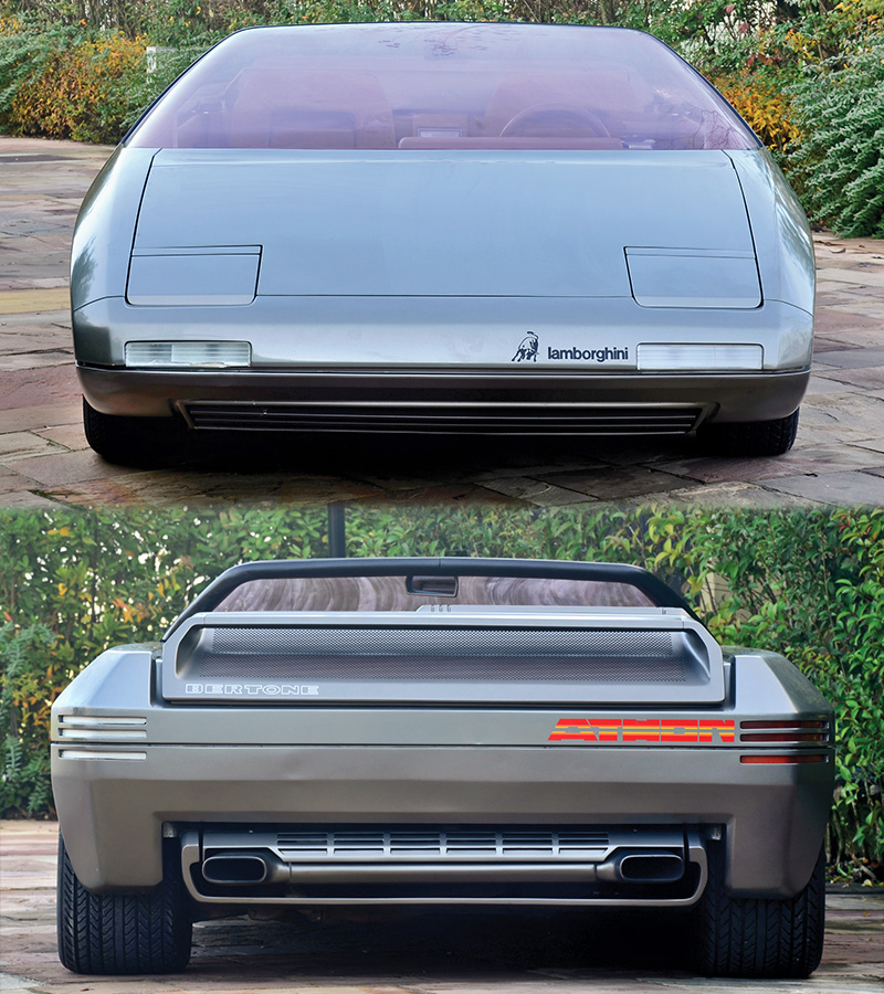 List Of Car Brands >> 1980 Lamborghini Athon Bertone Concept - specs, photo, price, rating