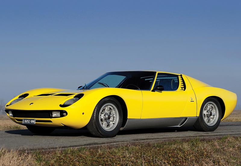 Lamborghini Miura Price >> 1967 Lamborghini Miura P400 - specs, photo, price, rating