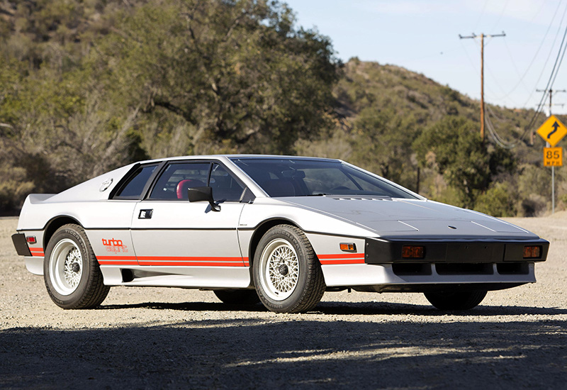 1981 Lotus Esprit Turbo