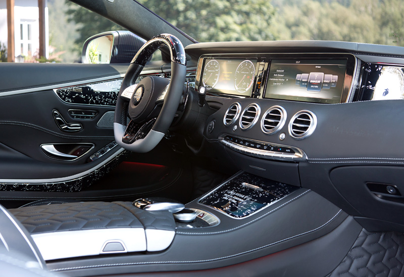 2016 Mercedes-Benz S 63 AMG Coupe Mansory Black Edition
