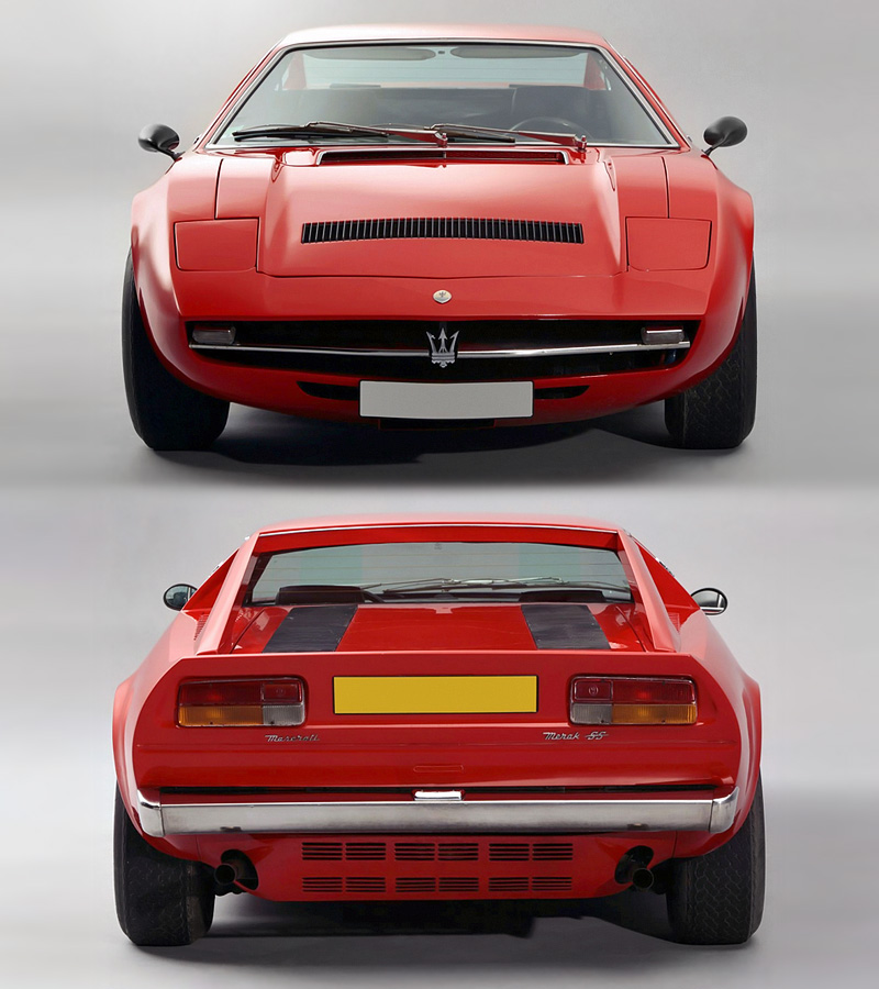 1976 Maserati Merak SS - specifications, photo, price, information, rating