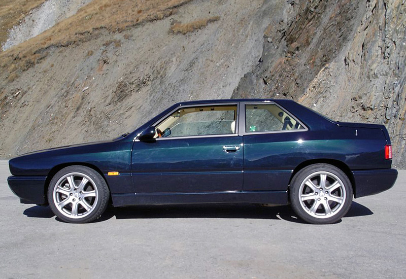 1992 Maserati Ghibli II (АМ 336) - price and specifications