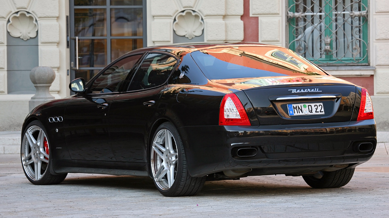 2011 Maserati Quattroporte Novitec Tridente (M139) - price ...