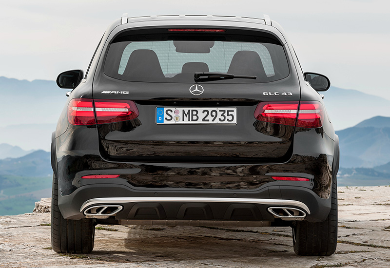2017 Mercedes-AMG GLC 43 4Matic (X253)