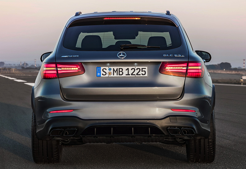 2017 Mercedes-AMG GLC 63 S 4Matic+ (X253)