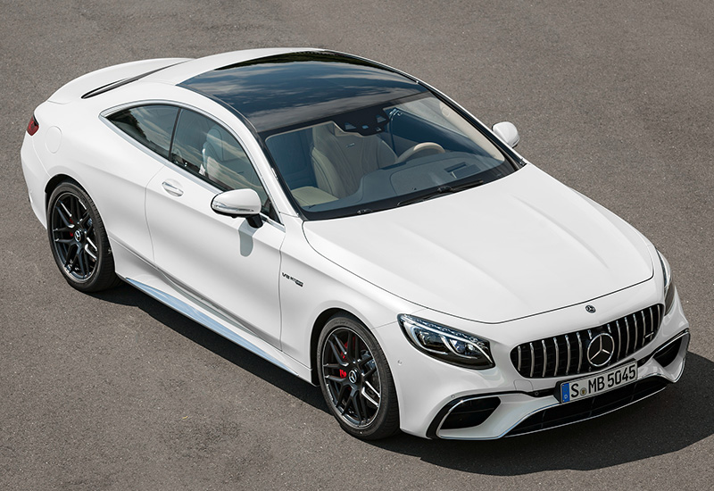 2018 Mercedes-AMG S 63 Coupe 4Matic+ (C217)