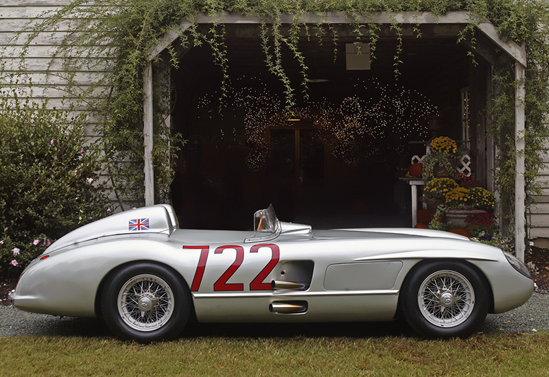 300 Hp Cars >> 1955 Mercedes-Benz 300 SLR Roadster Mille Miglia (W196S) - specs, photo, price, rating