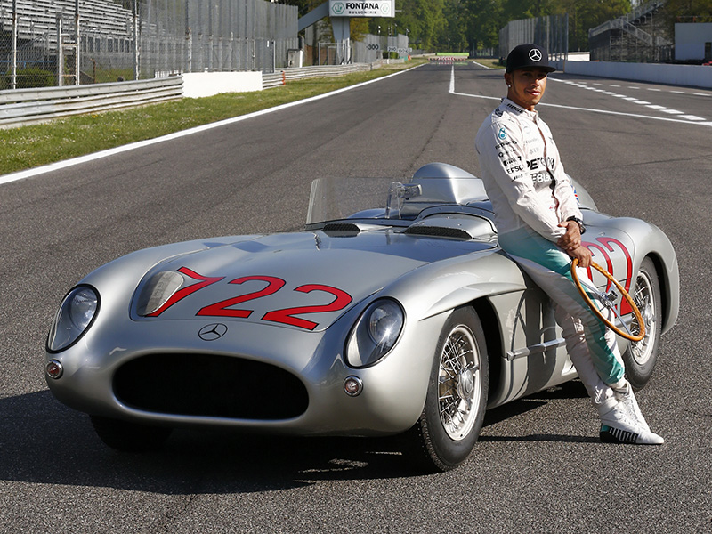 1955 Mercedes-Benz 300 SLR Roadster Mille Miglia (W196S)