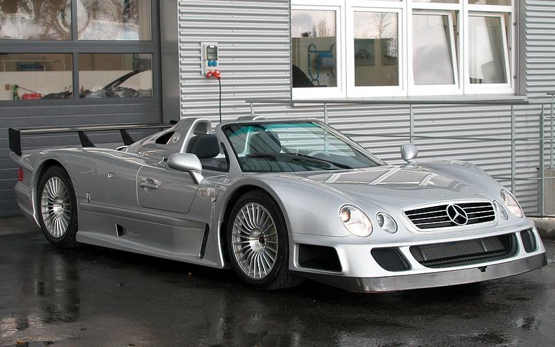 2002 mercedes-benz clk gtr amg roadster