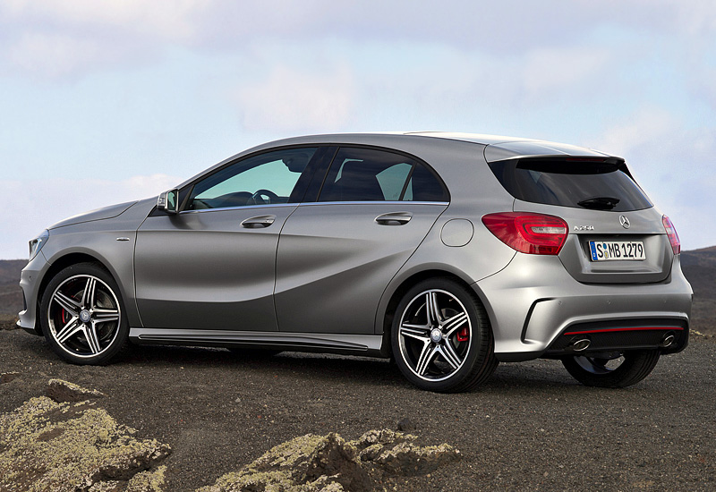 2012 Mercedes-Benz A 250 AMG Sport Package (W176)