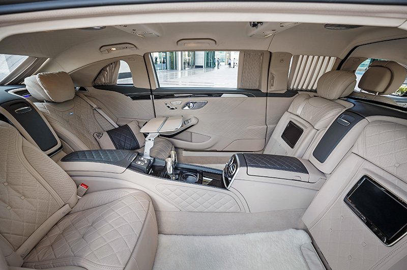 2016 Mercedes-Maybach S 600 Pullman