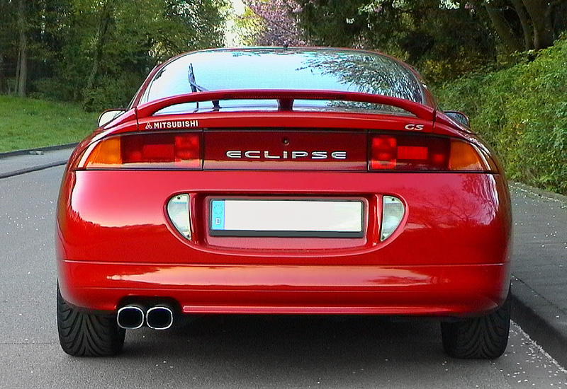 All Types Of Cars >> 1995 Mitsubishi Eclipse GSX (2G, D30) - specs, photo, price, rating