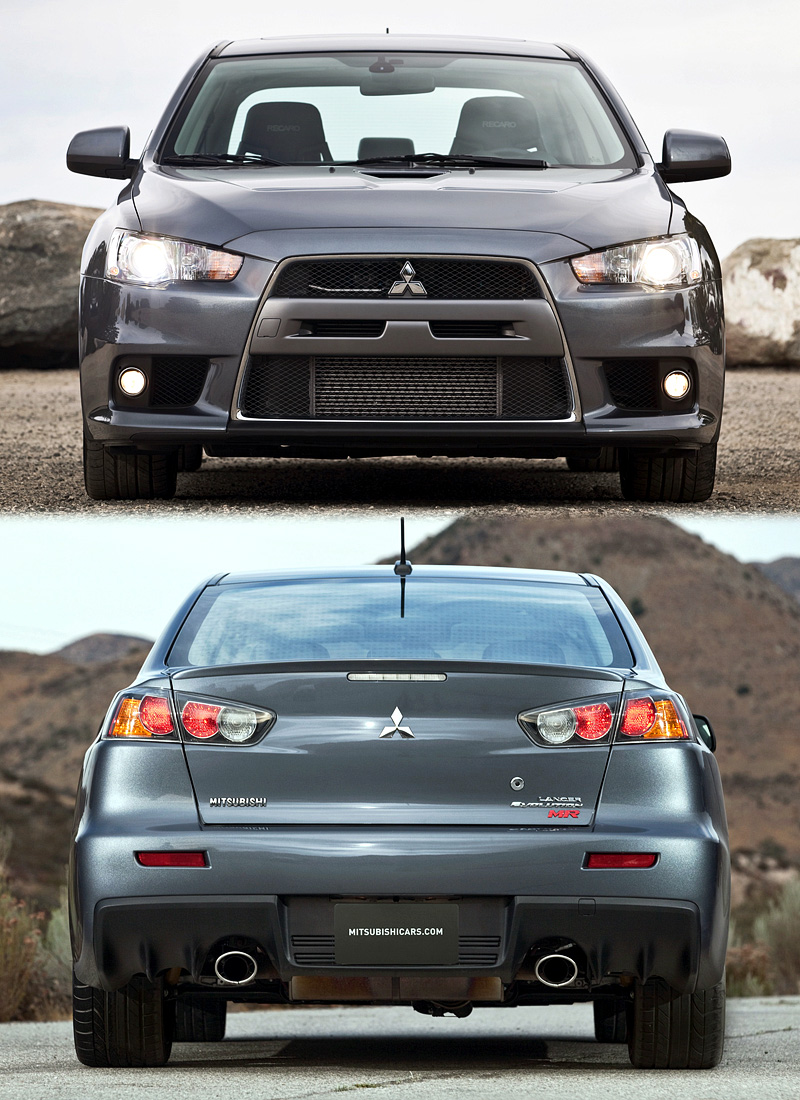 2008 Mitsubishi Lancer Evolution X MR