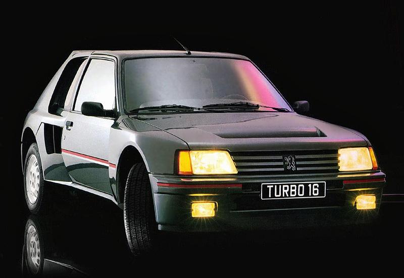 1984 Peugeot 205 Turbo 16 Specs Photo Price Rating