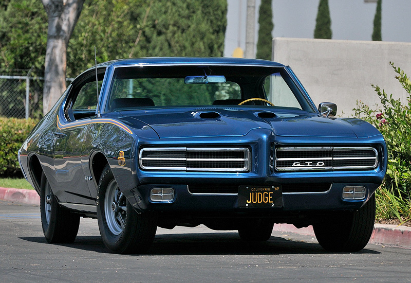 1969 Pontiac GTO Judge Hardtop Coupe - specifications ...