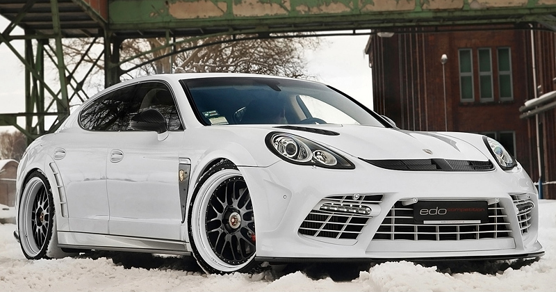 2011 Porsche Panamera Turbo Moby Dick Edo Competition