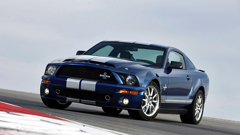 2008 Ford Mustang Shelby GT500 KR 40th Anniversary